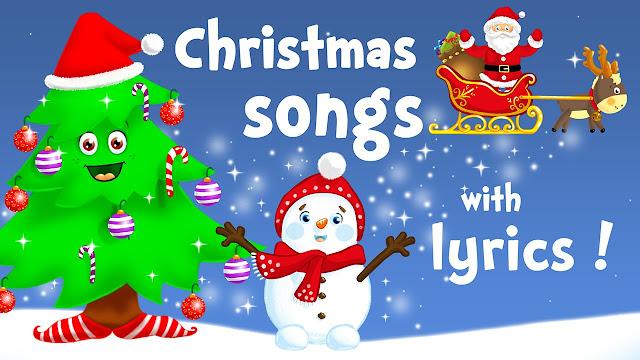 Merry Christmas Carols Songs Lyrics For kids Free Download
