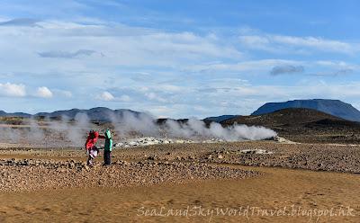 冰島, Iceland, Namafjall, Hverir 地熱地區