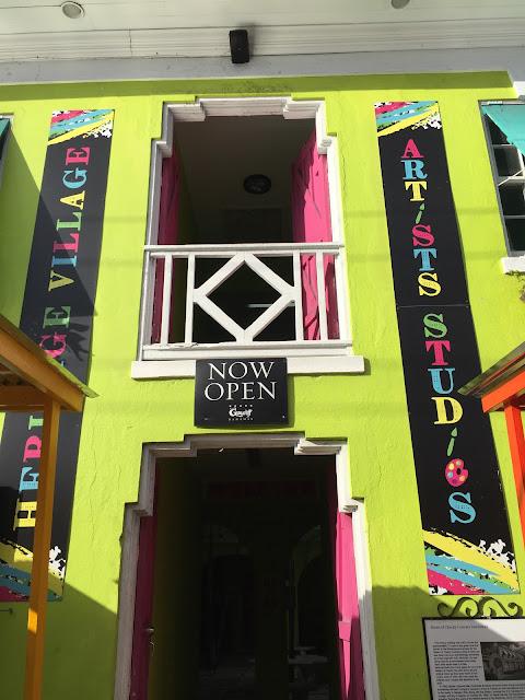 Artists' Studio, Heritage Village, Nassau - curiousadventurer.blogspot.com