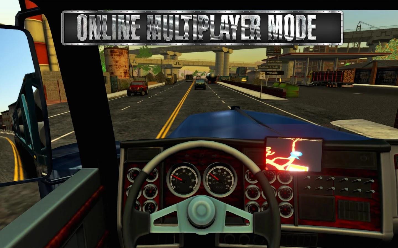 Truck Simulator USA MOD APK + DATA