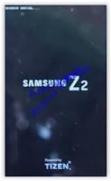 Samsung Z2 tizen Logo