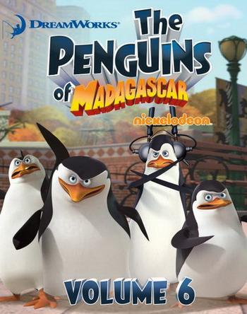 The Penguins Of Madagascar Vol.6 เพนกวินจอมป่วน ก๊วนมาดากัสการ์ ชุด 6