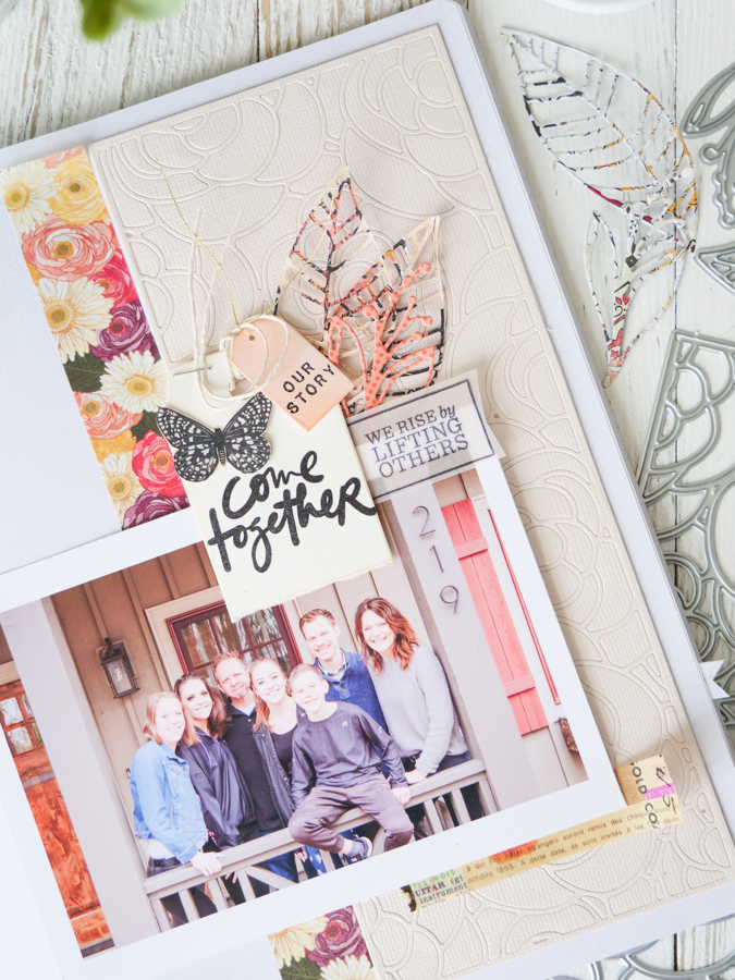 Come Together Layout by Jamie Pate