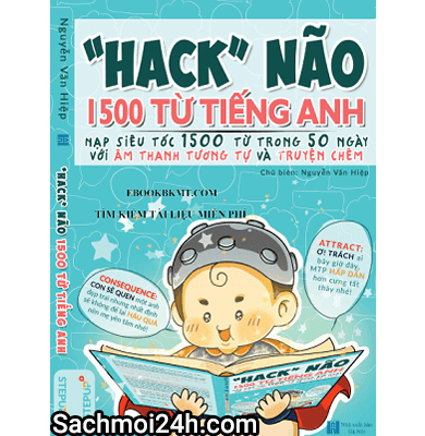 Ebook Hack não 1500 từ Tiếng Anh (PDF + Audio)