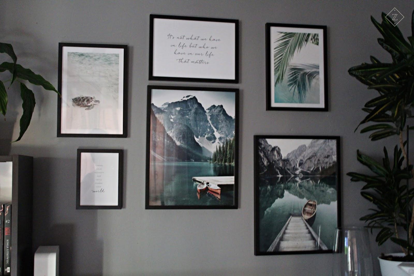 Poster Store - galeria ścienna w skandynawskim stylu