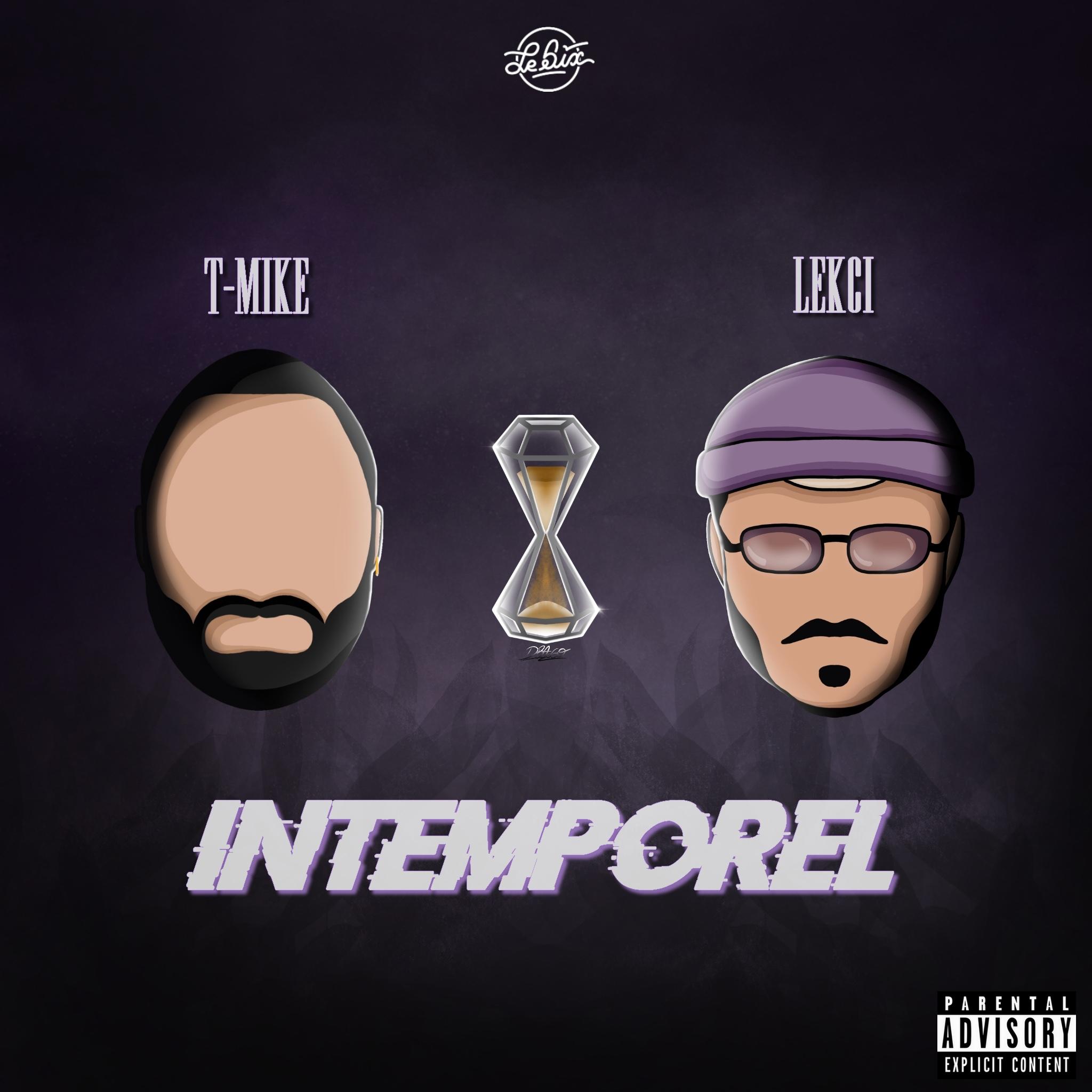 Photo du cover de l'EP Intemporel de T-Mike et Lekci