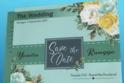 Jual Undangan Pernikahan Termurah di Sukabumi