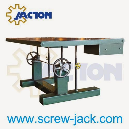 Jack Screw Mechanism, Coupling, Crank Handle, Linking Bar