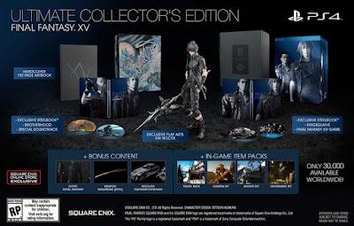 Final Fantasy XV Ultimate Collector's Edition