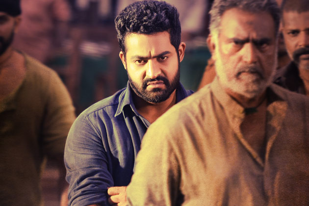 janatha garage first poster with Mass look