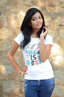 Actress Bindu Barbie Stills in Jeans at Veda Enterprises Movie Launch  0009.jpg