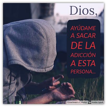 Oración para Ayudar a un Drogadicto