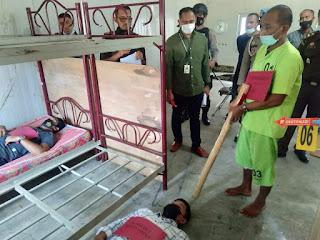 Pembunuh Ibu dan Anak di Aceh Timur Peragakan 24 Adegan