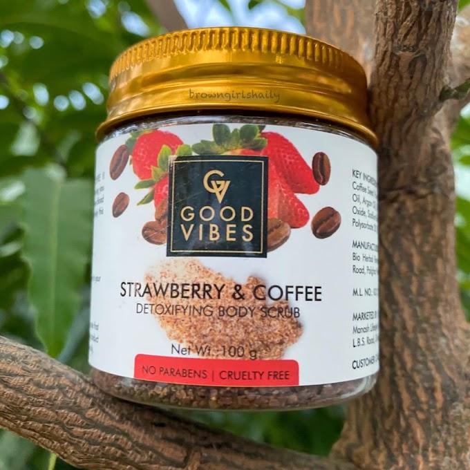 Good Vibes Strawberry & Coffee Body Scrub Review