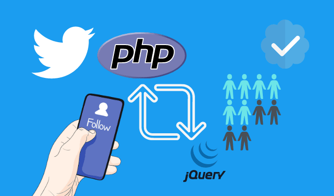 Creating Twitter Like Follow Unfollow System Using PHP And JQuery