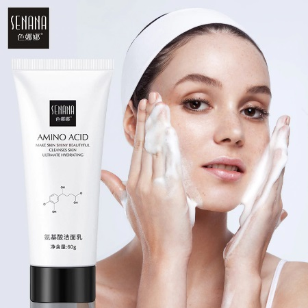 Mildly cleanse Wash out delicate and tender skin   Senana Amino Acid Cleanser  Nourishing and hydrating