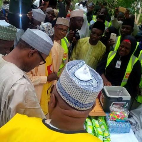 Buhari launches immunization exercise