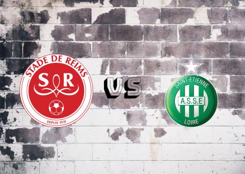Reims vs Saint-Étienne  Resumen