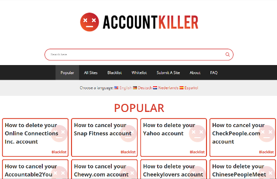 Delete-Web-Accounts