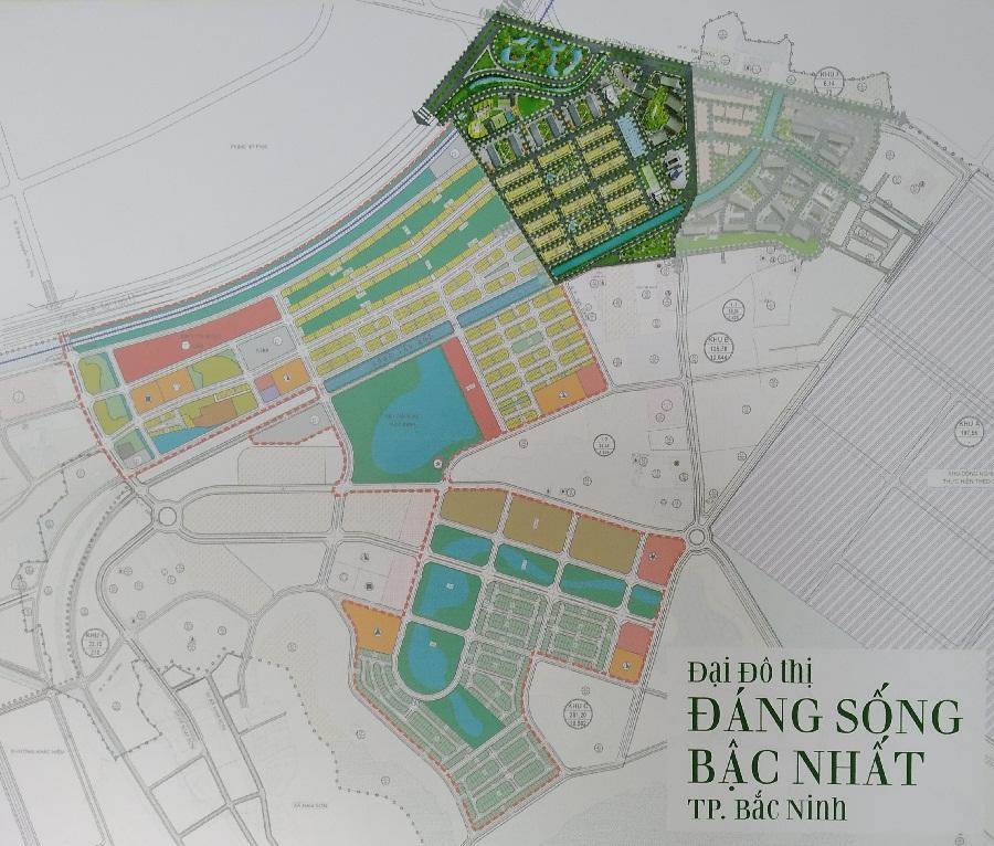 Tổng thể quy hoạch khu Him Lam Green Park