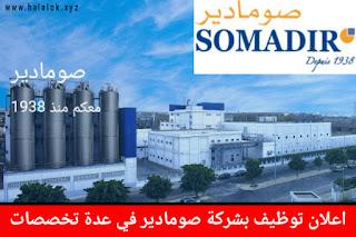 العمل في شركة صومادير