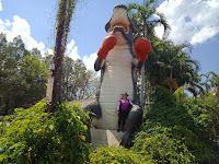 Northern Territory BIG Things | BIG Boxing Crocodile in Humpty Doo