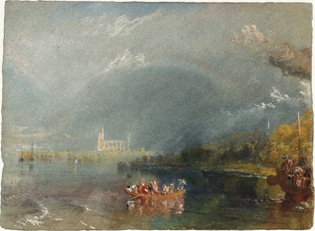 JMW Turner. Jumièges, vers 1832 Photo © Tate