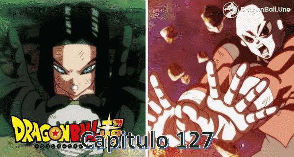 Ver capitulo 127 online, Son Goku y el príncipe sayajin Vegeta se enfrentan contra Jiren el Gris.