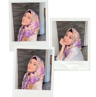 Yasmin Napper Pakai Hijab