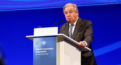 Генеральный секретарь ООН предложил отменить все санкции в связи с пандемией