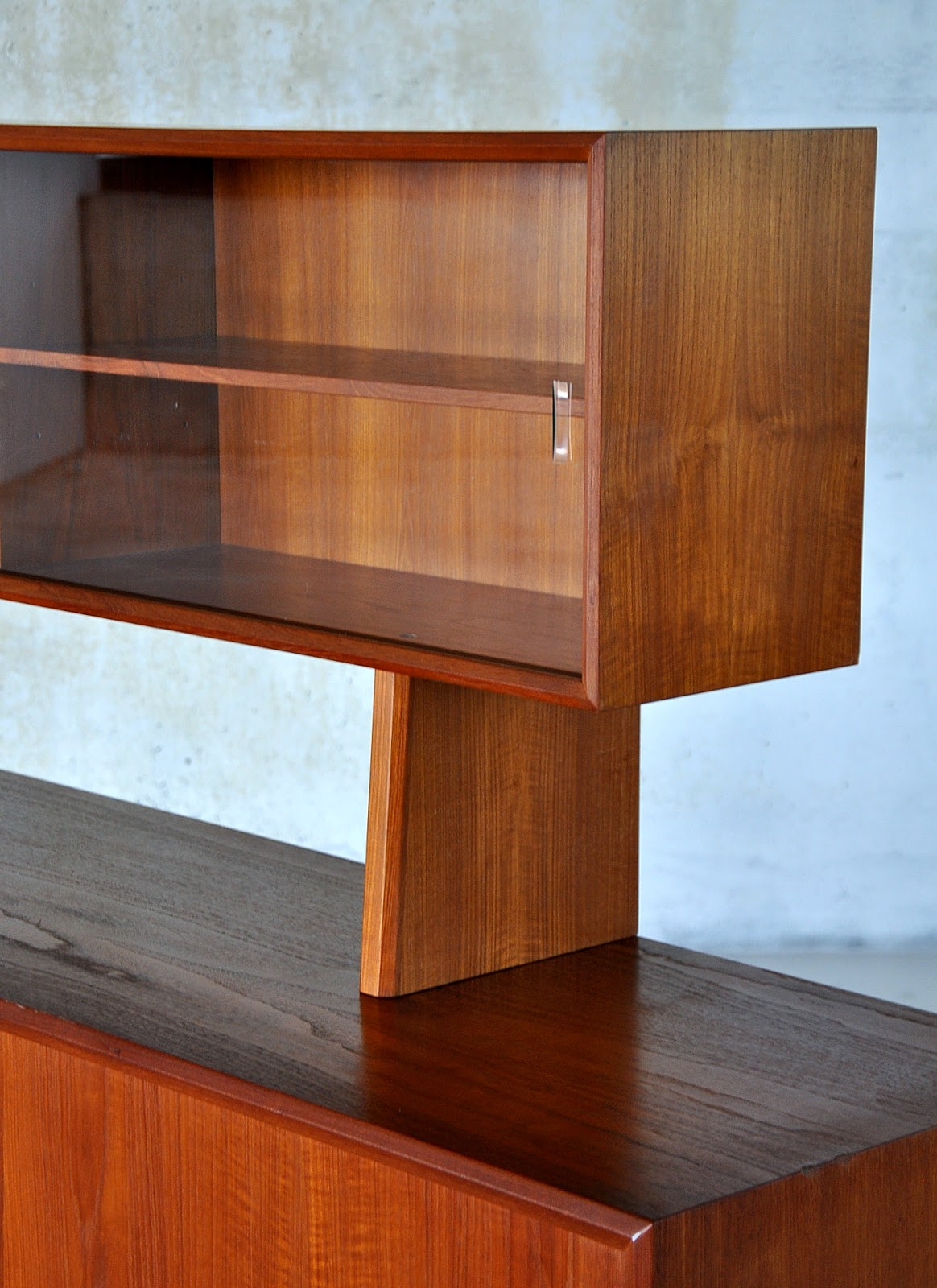 Select Modern Svend Aage Larsen Teak Credenza Sideboard
