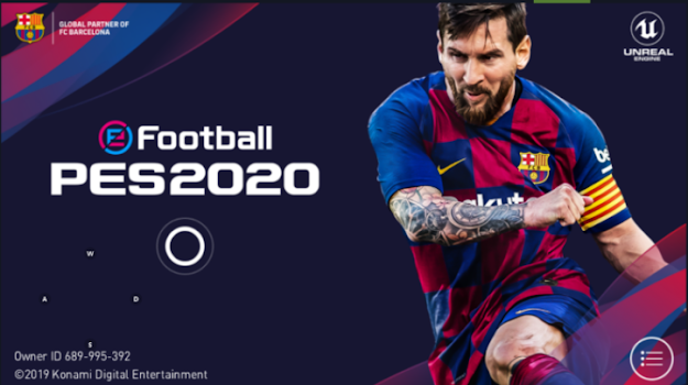 Game eFootball PES 2020 Mobile