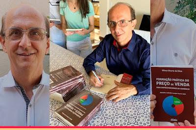 Empresário Gilmar Duarte lança livro. Café com Jornalista