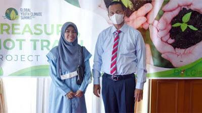 Lisa Rizka Amelia, Putri Pariaman Satu-Satunya Wakil Indonesia di Youth Climate Champion