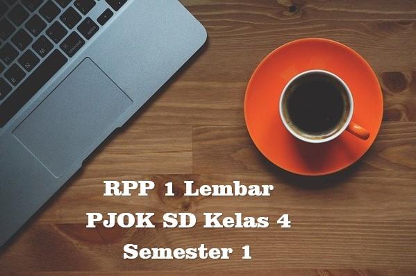 RPP 1 Lembar PJOK SD Kelas 4 Semester 1