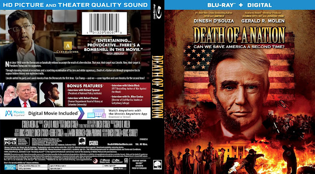 Death of a Nation Bluray Cover