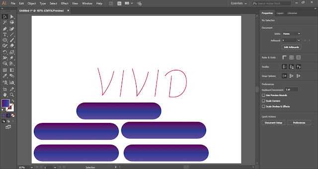 3D Tube Text Effect in Adobe Illustrator