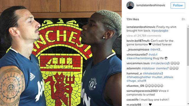 Ibrahimovic Ungkap Alasan Pogba Kembali ke Manchester United