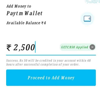 Paytm Add Money Promocode Offer Get Flat Rs.50 Cashback ( 2020 )