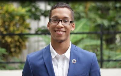 Joven dominicano es finalista en premio ambiental de Naciones Unidas