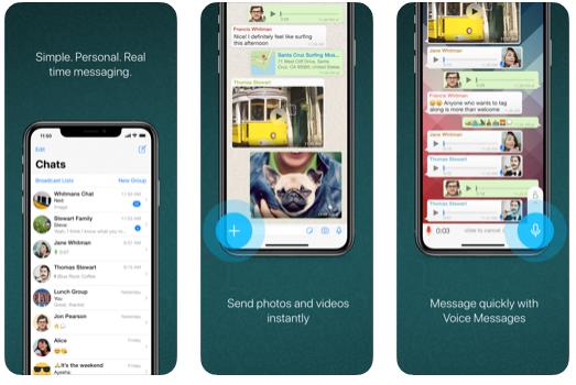 تطبيق Whstsapp من اشهر تطبيقات المحادثة