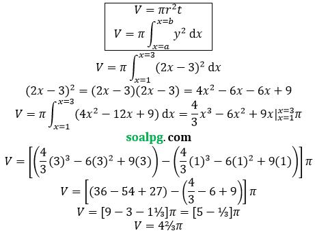 bahas soal un matematika