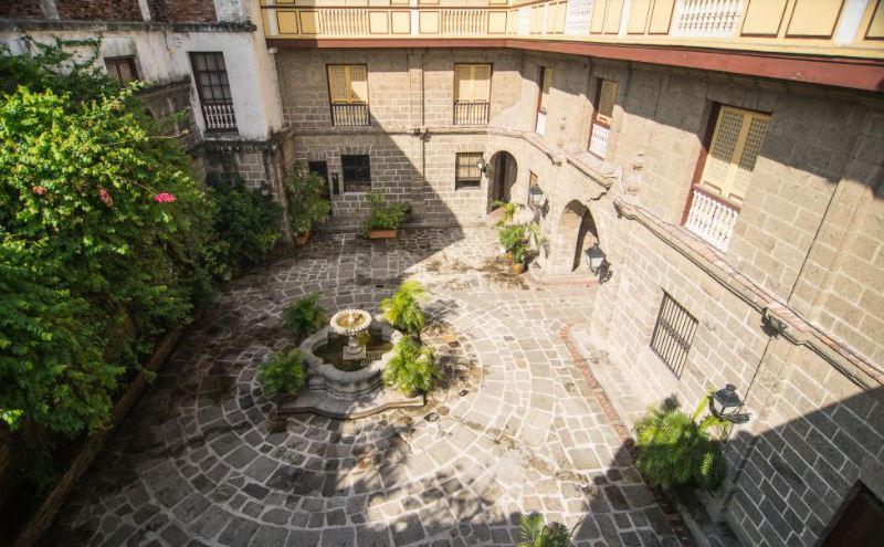 Photo of Casa Manila courtesy of Intramuros Administration