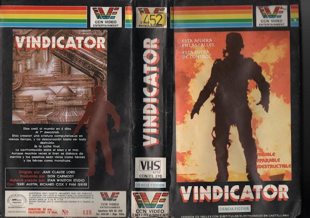 "Pelicula: ""Vindicator"" - 1986"