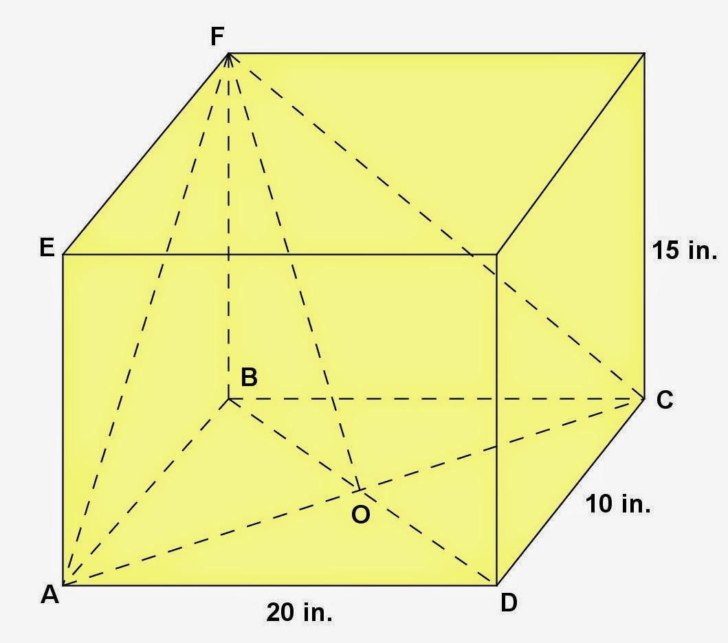 Math Principles Rectangular Parallelepiped Problem 13