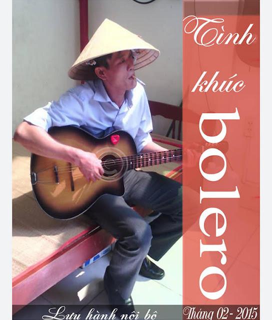 Bìa cuốn e bọok 137 bài hát Bolero kèm hợp âm guitar thực hành