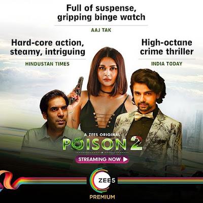 Sakshi Pradhan web series Poison