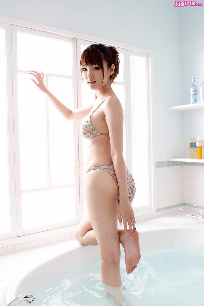 image Japanese av model gets two cocks in her love holes