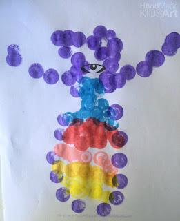creative preschool monster activity