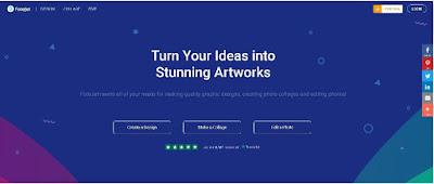 Gambar Situs Web Fotojet